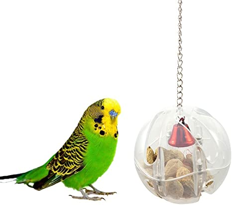 Finch Bird Foraging Feeder for Parrots Parakeet Lovebirds