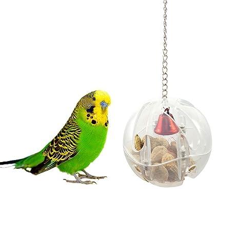 Jaula de pájaros para colgar, juguetes para periquito, periquito ...