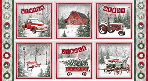 - HENRY GLASS & CO. Holiday Wishes Quilt Fabric 24