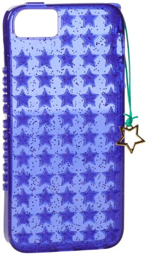 (Juicy Couture Starburst Jelly iPhone 5 Case with Star Charm, Purple)