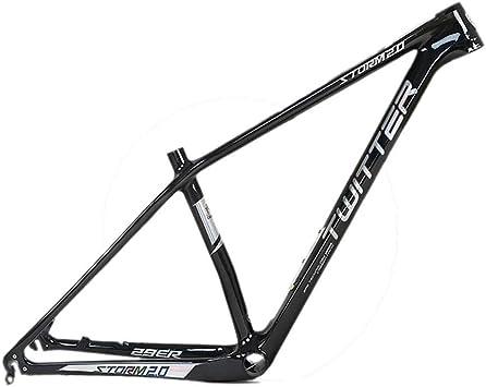 MAIKONG Cuadro de Bicicleta de montaña de Fibra de Carbono 18K ...