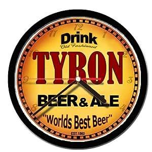TYRON beer and ale minas reloj de pared