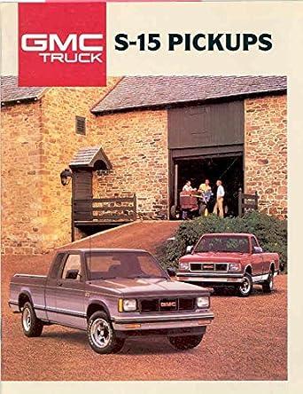 Amazon com: 1988 GMC S15 Pickup Truck Sales Brochure