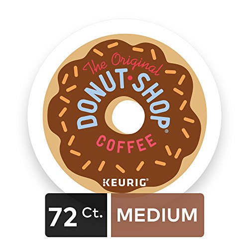 Large Product Image of The Original Donut Shop Regular Keurig Single-Serve K-Cup Pods, Regular Extra Bold Coffee, 72 Count (6 Boxes of 12 Pods)