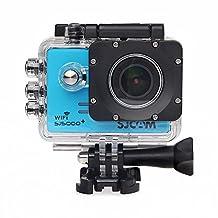 SJCAM SJ5000 Plus WiFi Sports Camera FHD 1080p 12MP 1.5 Inch 170 Degree Wide Angle Lens With Waterproof Case (Blue)