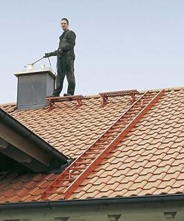 Bevorzugt Dachleiter Alu natur 15 Sprossen 4,2 mtr.: Amazon.de: Baumarkt PF47