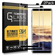 AOFU,Samsung Galaxy Note 8 Screen Protector,AOFU Tempered Glass 3D Touch Compatible,9H Hardness,Bubble 2 Pack-01