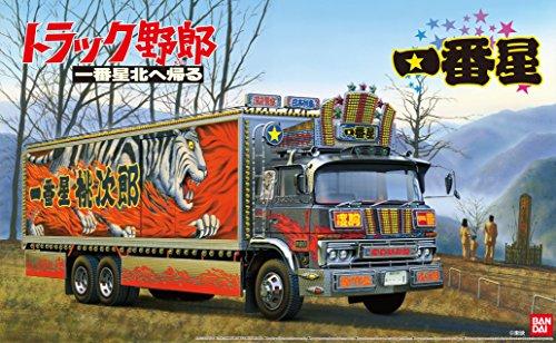 青島文化教材社 1/32 トラック野郎シリーズ No.6 一番星 北へ帰る プラモデルの商品画像