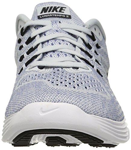 Nike Heren Lunartempo 2 Loopschoen Pure Platinum / Zwart-ocn Fg-wht