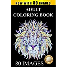 Adult Coloring Book Largest Collection Of Stress Relieving Patterns Inspirational Quotes Mandalas Paisley Animals Butterflies Flowers