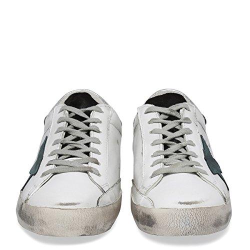 Golden Goose Sneakers Uomo G30MS590W55 Pelle Bianco