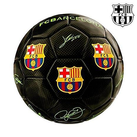 Balón DE Fútbol Mini Negro F.C. Barcelona: Amazon.es: Deportes y ...