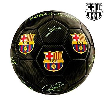 Balón DE Fútbol Mini Negro F.C. Barcelona Rosa Y Negro: Amazon.es ...
