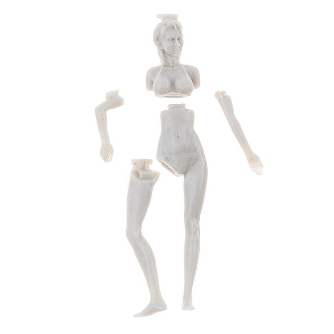KESOTO 1/35 Traje De Baño Niña Bikini Mujer Modelo Figura Sin ...