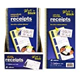 Write 'n Stick Receipt Books - 3/200 ct.