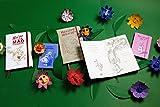 Moleskine Alice's Adventures in Wonderland Limited Edition Notebook, Large, Plain, Black, Hard Cover (5 x 8.25)