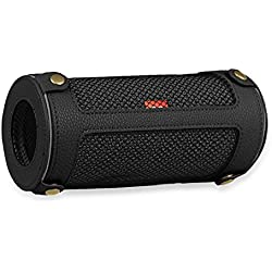 Fintie Protective Case for JBL Flip 3 - Premium PU Leather Carrying Sleeve Protective Cover with Carabiner For JBL Flip3 Splashproof Portable Bluetooth Speaker, Black
