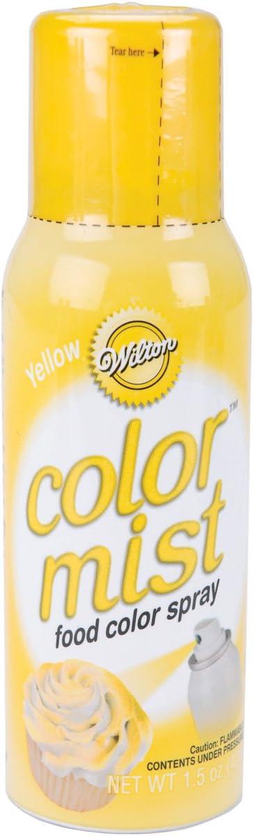 Wilton Food Decorative Color Mist, Yellow