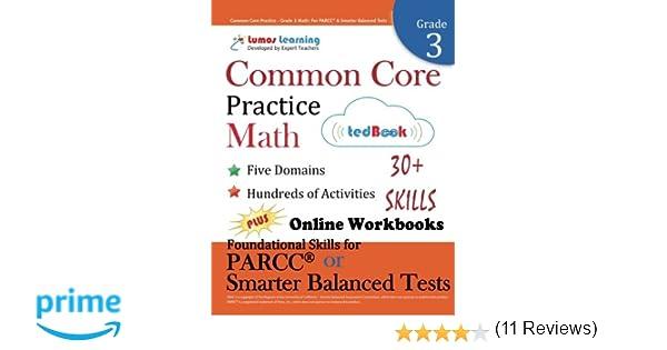 Common Core Practice - Grade 3 Math: Workbooks to Prepare for the ...