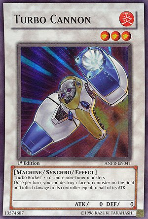 Yu-Gi-Oh! - Turbo Cannon (ANPR-EN041) - Ancient