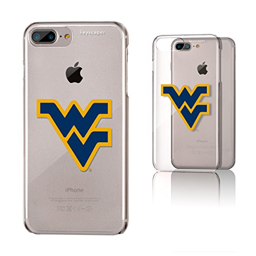 Keyscaper West Virginia Mountaineers Clear Case for the iPhone 6+/6S+/7+/8+ NCAA ()