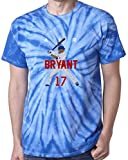"The Silo TIE DIE BLUE Kris Bryant Chicago ""AIR HR NEW"" T-Shirt"