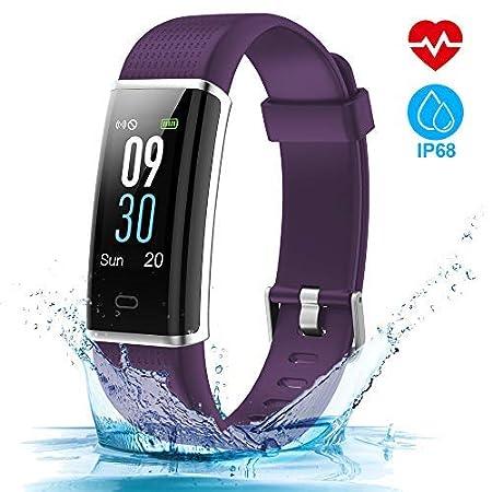 HOMSCAM Fitness Tracker Reloj Smartwatch Pulsómetro de Pulsera ...