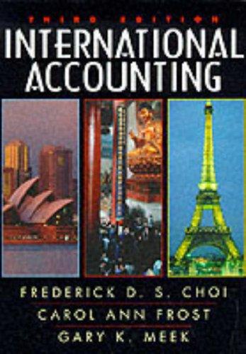 International Accounting (3rd Edition)
