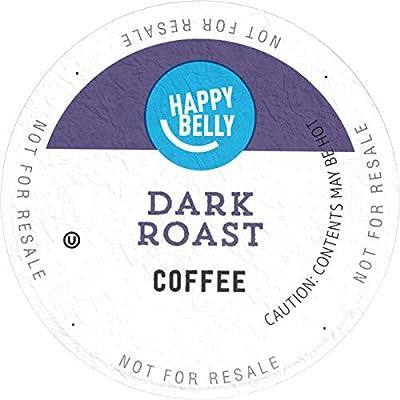 Happy Belly Dark Roast Coffee, Single Serve Cupst by Happy Belly