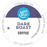 Amazon Brand - Happy Belly Dark Roast Coffee, Single Serve Cups, 100 Count