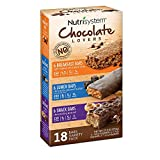 Nutrisystem Chocolate Lovers Breakfast, Lunch and Snack Bar Variety Pack 18 ct. (pack of 4) A1