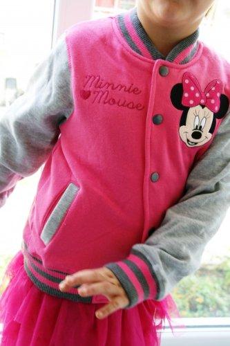 Mädchen Minnie Maus Jacke Pullover Mouse Mantel EDH29I