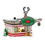 Department 56 North Pole Series ''Dasher's Kick Start Espresso Bar'' Porcelain Lighted Building