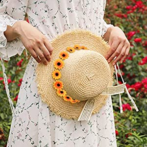 HZOnline Artificial Silk Daisy Flower Heads, Fake Fabric Gerbera Floral Head for DIY Easter Eggs 5