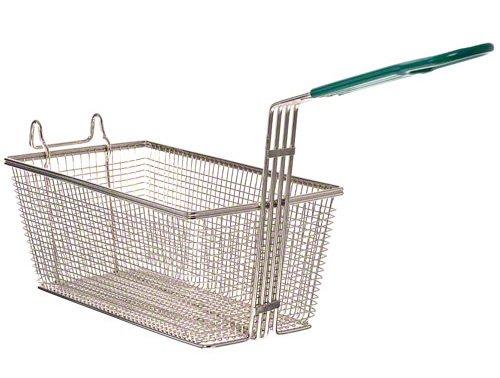 Update International (FB-126PH) 12 7/8 x 6 1/2'' Rectangular Wire Fry Basket
