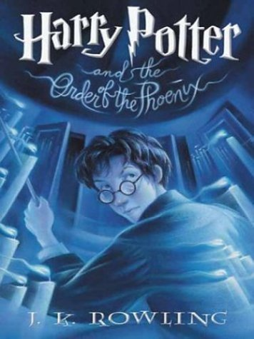 Harry Potter and the Order of the Phoenix (Book 5) by J. K. Rowling (2003) Hardcover