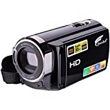 Camcorder,Hausbell 302S Remote Control Camcorder, FHD Infrared Night Vision 1080p 24 MP Digital Camcorder Video Camera with 3.0 LCD, Touch Screen and HDMI Output (Noir)