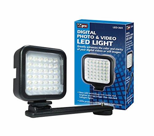 Vidpro LED-36X Photo and Video LED Light by VidPro