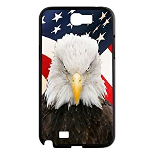 Bald Eagle The Unique Printing Art Custom Phone Case for Samsung Galaxy Note 2 N7100,diy cover case ygtg578391