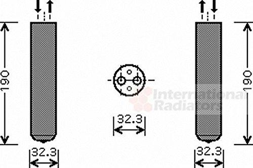 VAN WEZEL 3700D343 Essiccatore, Climatizzatore