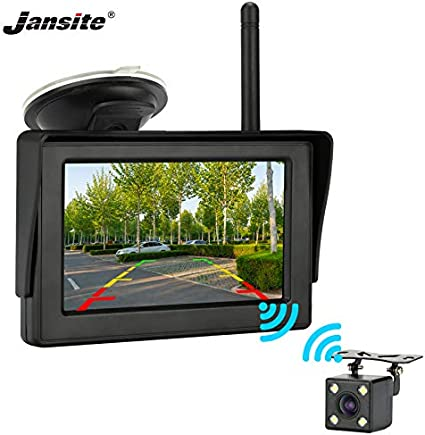 Mini Auto Car Backup Rearview Camera with One Button Control Switch Waterproof