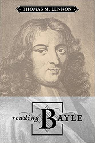 Reading Bayle (Toronto Studies in Philosophy)