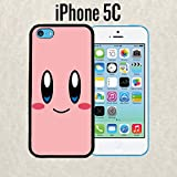 kirby phone case 5c - iPhone Case Cartoon Girl Cute Kirby LOL for iPhone 5c Rubber Black (Ships from CA)