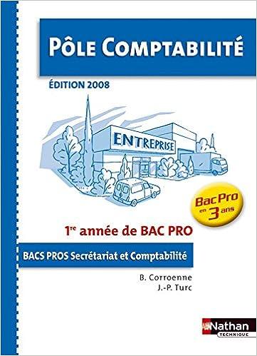 Lire POLE COMPTA 1E ANNEE BPRO 3 AN epub pdf