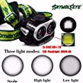Flashlight,Baomabao 8000LM 2X XM-L T6 LED Rechargeable 18650 USB Headlamp Headlight Head Light Torch