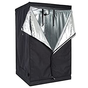 Hydroponic indoor grow tent reflective 600d mylar room 48 inch x48 inch x78 inch non toxic hut