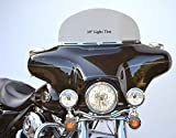 10'' LT-1 Light Gray Tint Windshield to Fit Harley Davidson 1996 to 2013