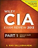 Wiley CIA Exam Review, Internal Audit Activity's Role in Governance, Risk, and Control, Vallabhaneni, S. Rao, 1118120590
