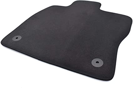 Fußmatte Passend Für Golf 7 Vii Velours Automatte Fahrermatte Einzeln Fahrerseite Schwarz Auto