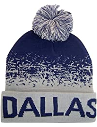 Team, City, & State Name Blending Color Cuffed Winter...